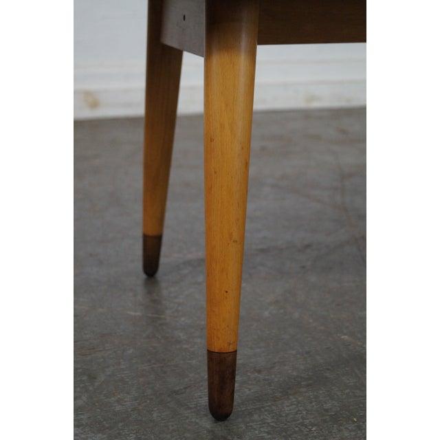 Mid Century Swedish Modern Oval Walnut Coffee Table - Image 9 of 10