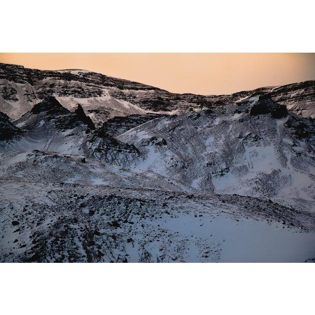 Purple Mountains Glacier Photo Unframed For Sale