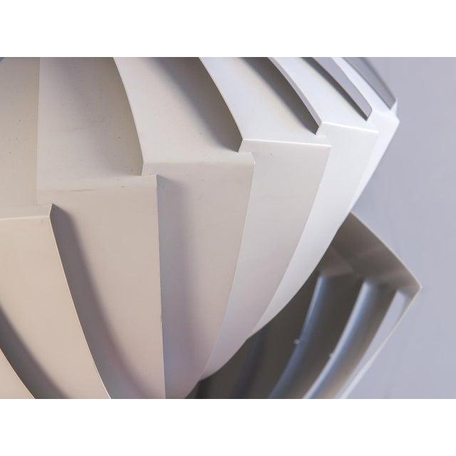 1960s Danish Konkylie Sculptural Pendant Light by Louis Weisdorf For Sale - Image 5 of 7
