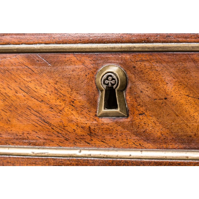 Late 19th C. Directoire Chest With Marble Top For Sale In West Palm - Image 6 of 10