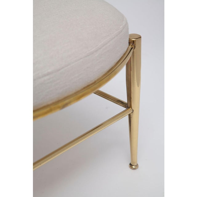 Rare Tall Back Brass Chiavari Chairs With Truncated Legs For Sale - Image 9 of 11