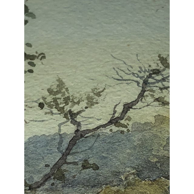 Plein Air Watercolor Painting by Elmer Wachtel For Sale - Image 10 of 10