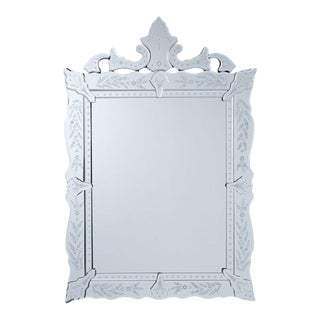 Venetian Carved Wall Mirror For Sale