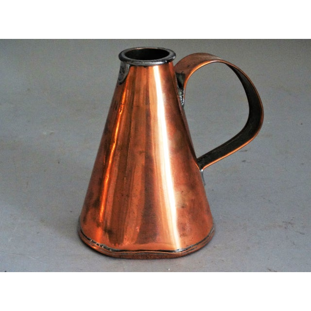 English Copper Pint Tavern Ale Jug For Sale In Houston - Image 6 of 8