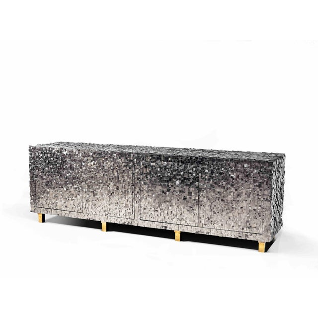 Not Yet Made - Made To Order Kam Tin - Pyrite Sideboard For Sale - Image 5 of 5