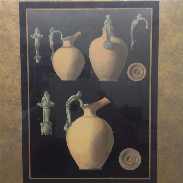 Ancient Roman Ceramics Lithograph - Image 4 of 5