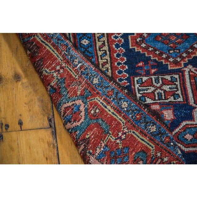 """Antique Karaja Square Rug - 4'9"""" x 6'2"""" - Image 3 of 5"""