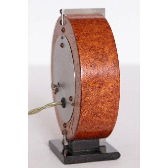 Metal Machine Age Gilbert Rohde Herman Miller Century of Progress Clock, No. 4725B For Sale - Image 7 of 11