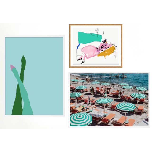 Milanese Summer Gallery Wall, Set of 3 For Sale - Image 10 of 10