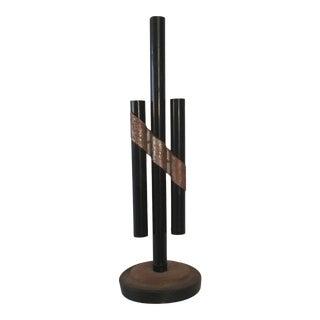 Art Deco Metal Bud Vase For Sale