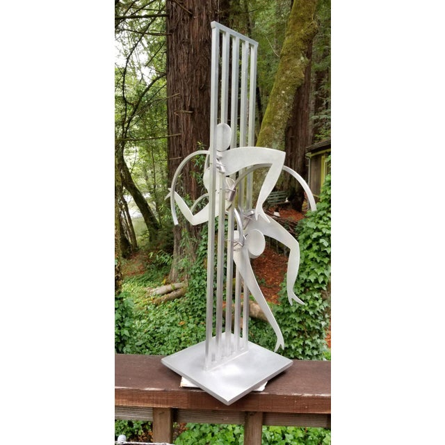 Metal Kinetic Sculpture by Jerome Kirk For Sale - Image 7 of 12