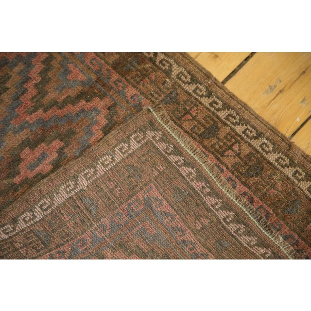 "Vintage Afghani Rug - 2' x 3'3"" For Sale - Image 5 of 6"