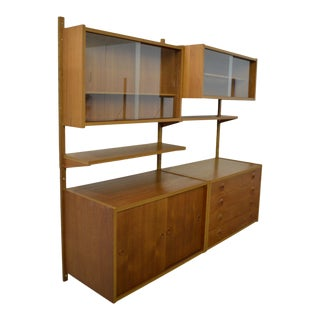 Mid Century Danish Teak Shelving Unit