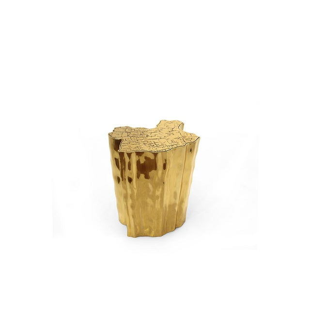 Modern Eden Ceramic Side Table From Covet Paris For Sale - Image 3 of 3