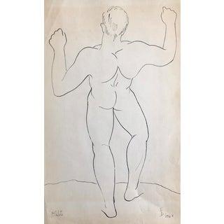 1964 Mid-Century Modern Athlete by James Bone For Sale