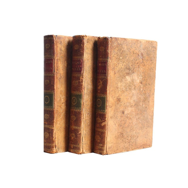 Antiquarian Pindar's Works, S/3. Three leather-bound antique books featuring the works of Peter Pindar (John Walcot)....