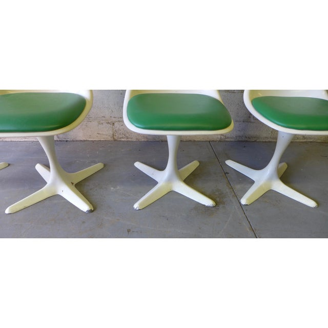 Mid Century ModernTulip Dining Chairs by Burke - Image 3 of 5