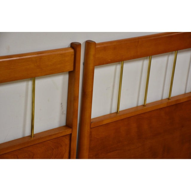 1950s Paul McCobb Planner Group Headboards- a Pair For Sale - Image 5 of 10