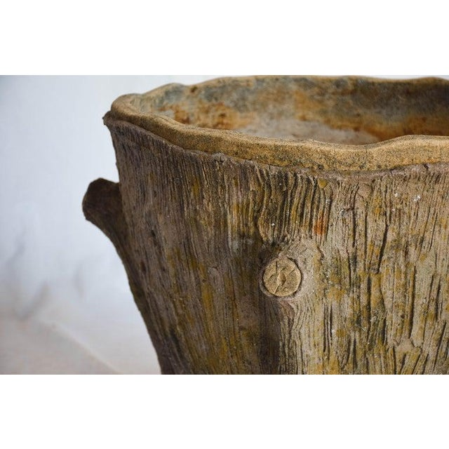 Mid 20th Century Mid 20th Century Faux Bois Planter For Sale - Image 5 of 13
