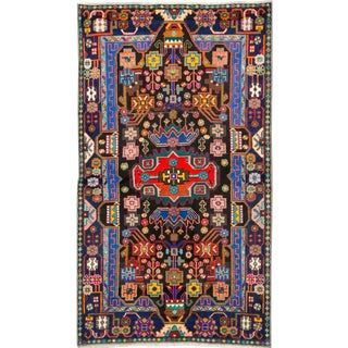 """Vintage Persian Malayer Rug – Size: 3' 6"""" X 6' 1"""" For Sale"""