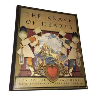 1st Ed 1925 the Knave of Hearts Maxfield Parrish For Sale