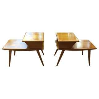 Heywood-Wakefield Side Tables - Pair