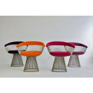 Set of Four Warren Platner Chairs Preview
