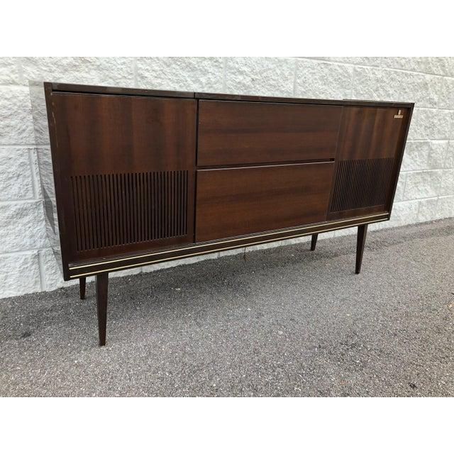 Mid Century Fully Restored Ks650u Grundig Record Credenza For Sale - Image 13 of 13
