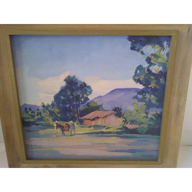 """Farmhouse """"Mexican Farm"""" by Hans Paro For Sale - Image 3 of 7"""
