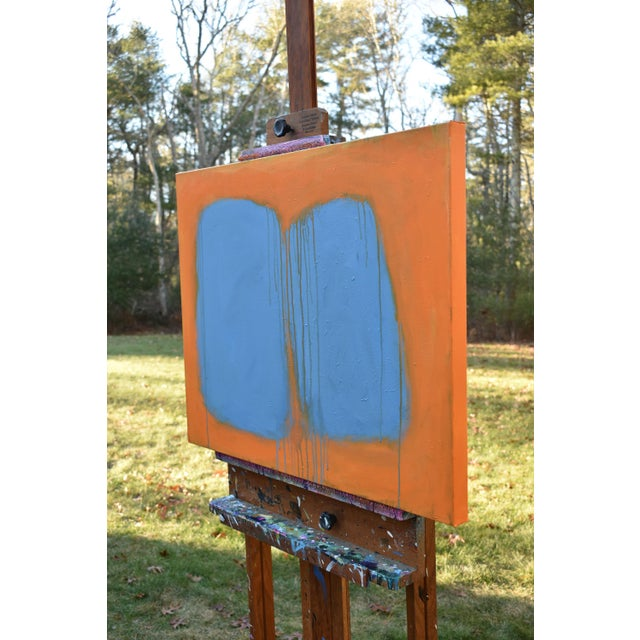 """Stephen Remick """"Comfort"""" Abstract Painting For Sale - Image 9 of 13"""