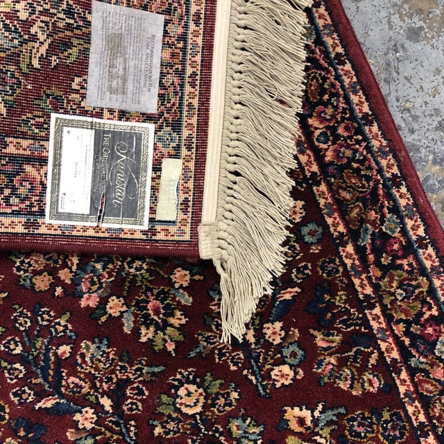 2ft6in × 5ft2in Karastan Red Sarouk Area Rug For Sale - Image 12 of 13