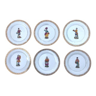 Kitchen Decorative Plates - Set of 6