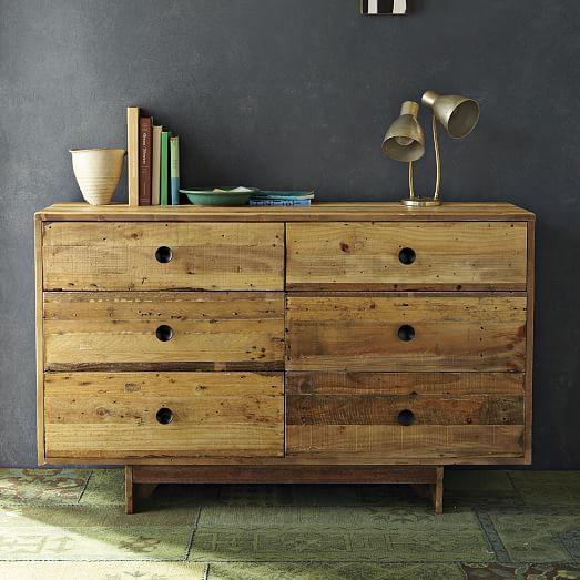 Pine Emmerson Six Drawer Dresser - Image 3 of 5
