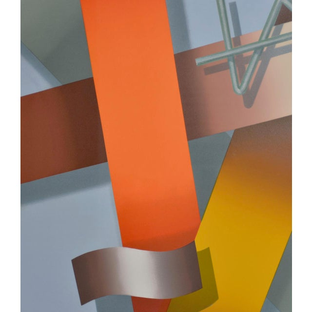 Daniel Heidi Modernist Abstract Serigraph For Sale In San Francisco - Image 6 of 10
