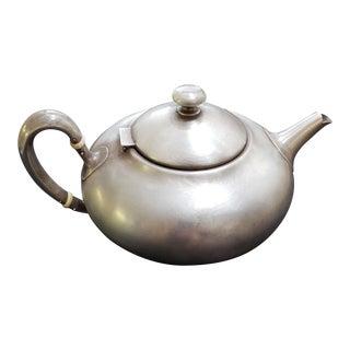 Shreve $ Co. Antique Silver Teapot For Sale