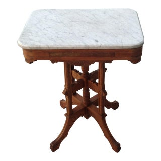 Marble Top East Lake Table