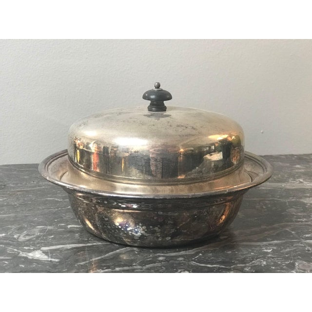 English English Antique Silver Dish For Sale - Image 3 of 6