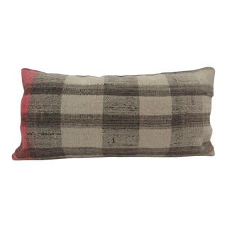 Vintage Turkish Handmade Kilim Pillow Cover For Sale