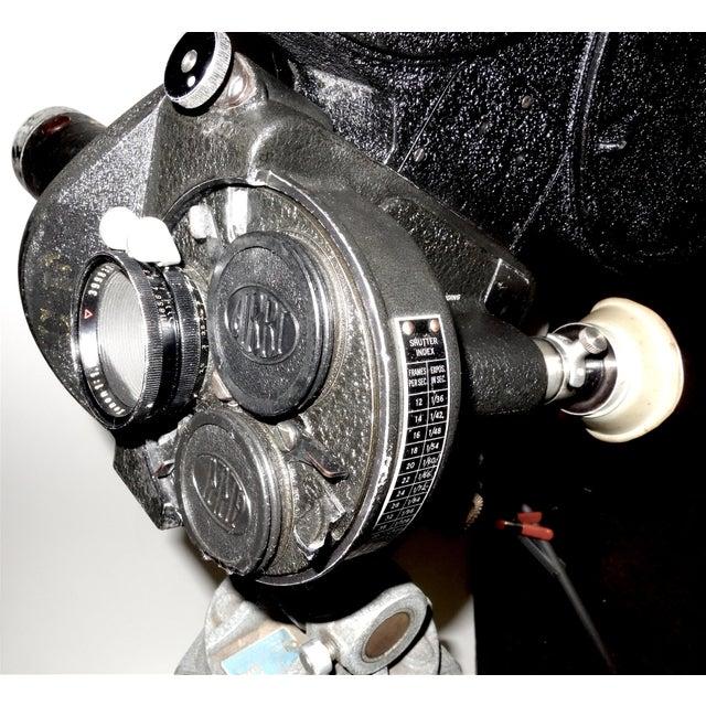 CineFlex 35mm Movie Camera Ww-II Designed Combat Camera, Pristine Time Warp Unit For Sale - Image 9 of 13
