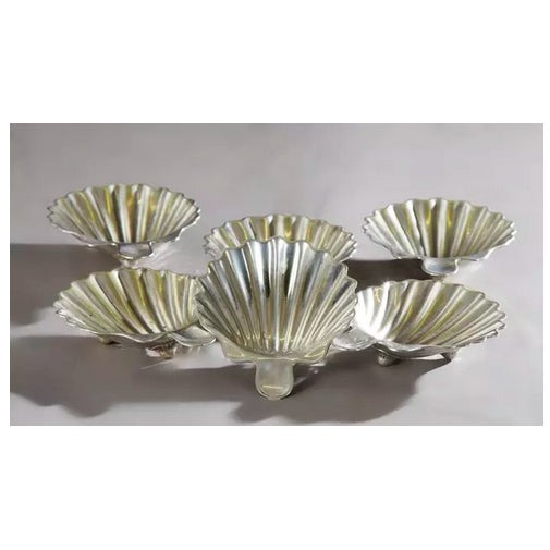 Mexican Sterling Shell Dishes - Set of 6 - Image 2 of 4