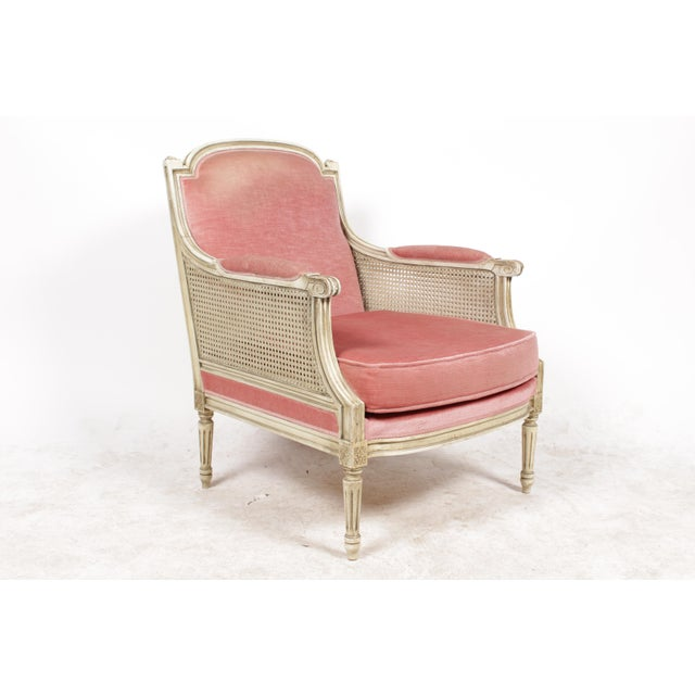 1930s Louis XVI Style Bergere Chairs - A Pair - Image 4 of 10