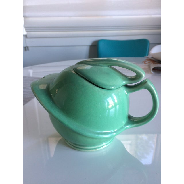 Mid-Century Stream-Lined Teapot For Sale - Image 4 of 4