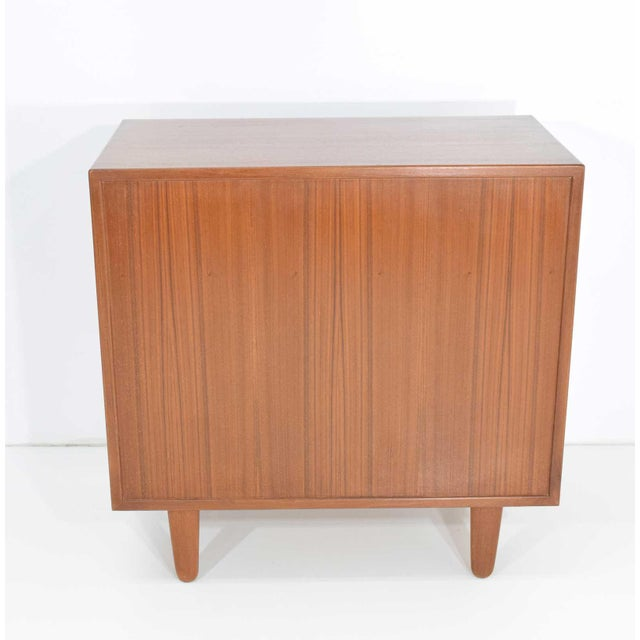 1960s Danish Teak Chest of Drawers For Sale - Image 5 of 6