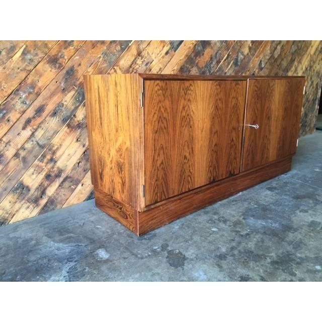 Danish Modern Rosewood Cabinet - Image 4 of 8