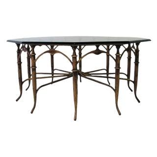 Italian Carlo Di Carli Style Spider Leg Coffee Table For Sale
