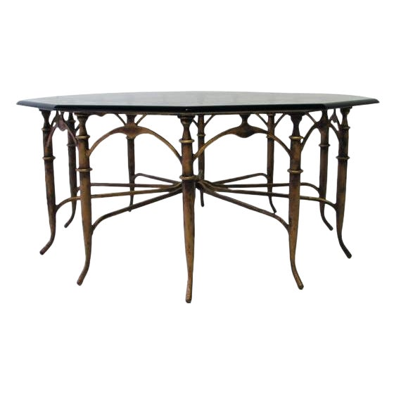 Italian Carlo Di Carli Style Spider Leg Coffee Table - Image 1 of 5