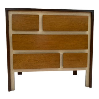 Vintage Henredon Walnut Chest of Drawers For Sale