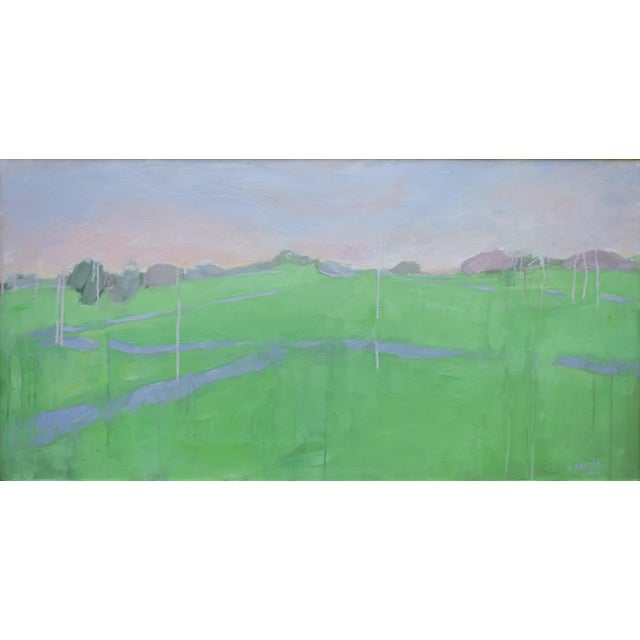 "Stephen Remick ""Spring Rising"" Contemporary Painting For Sale - Image 10 of 11"