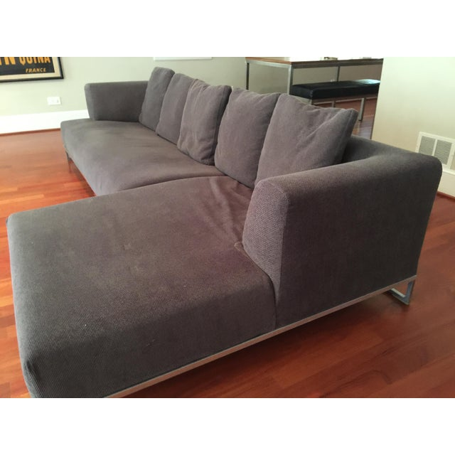 B&B Italia Antonio Citterio Solo Sofa - Image 7 of 9