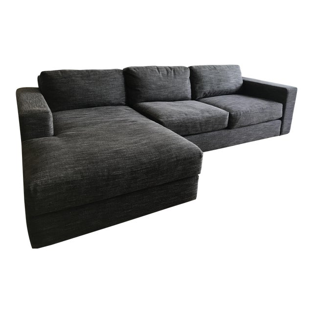 West Elm Urban 2-Piece Chaise Sectional - Image 1 of 3